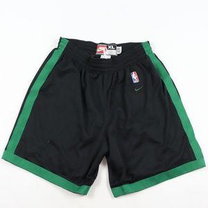 Vintage Nike 1963 Boston Celtics Basketball Shorts